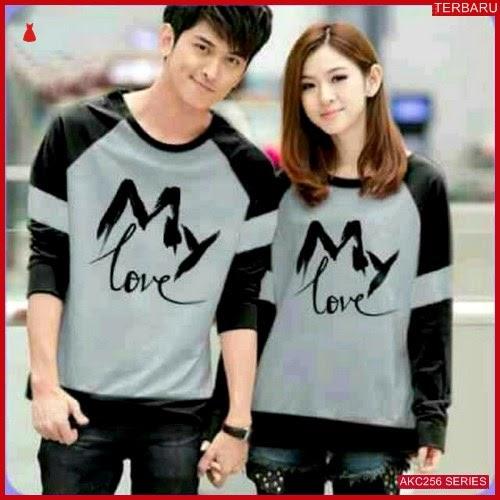 AKC256S40 Sweater Couple My Anak 256S40 Pasangan Love BMGShop