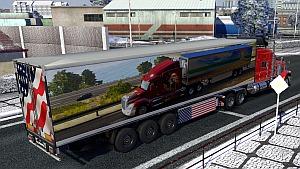 American Truck Simulator trailer mod