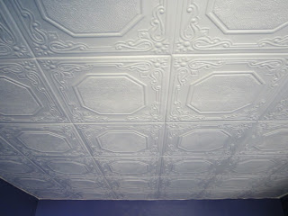 Giy Goth It Yourself Polystyrene Tiles Over Popcorn Ceiling