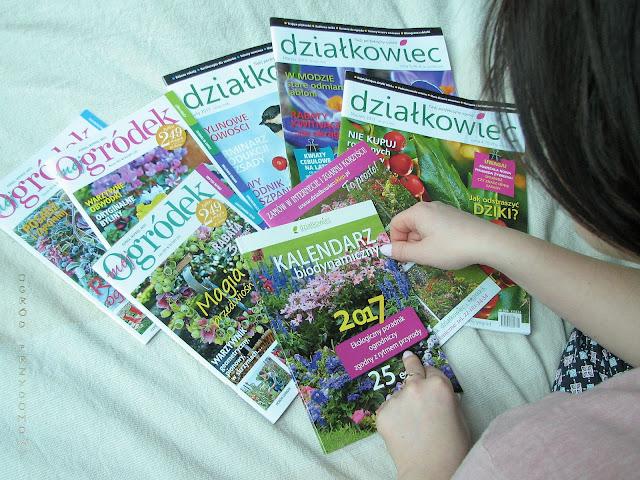 czasopisama ogrodnicze, czasopismo ogrodnicze, ogród przydomowy