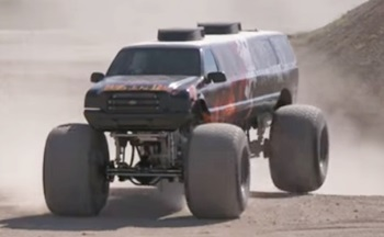 Longest monster truck – Meet the Record Breakers