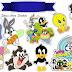 Looney Tunes Bebés: Toppers para Tartas, Tortas, Pasteles, Bizcochos o Cakes para Imprimir Gratis.