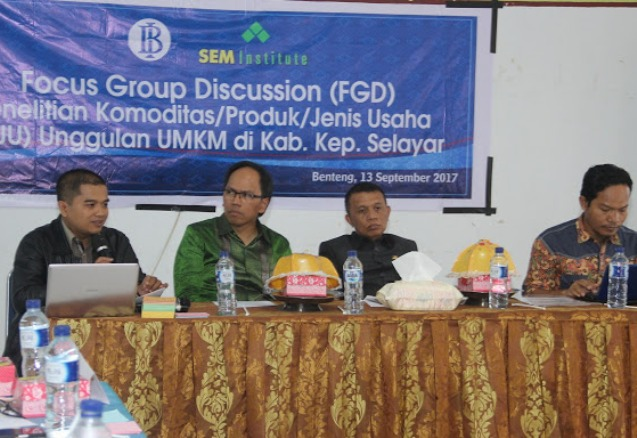 Bank Indonesia,Gelar, FGD, KPJU ,Unggulan, UMKN, Di ,Selayar