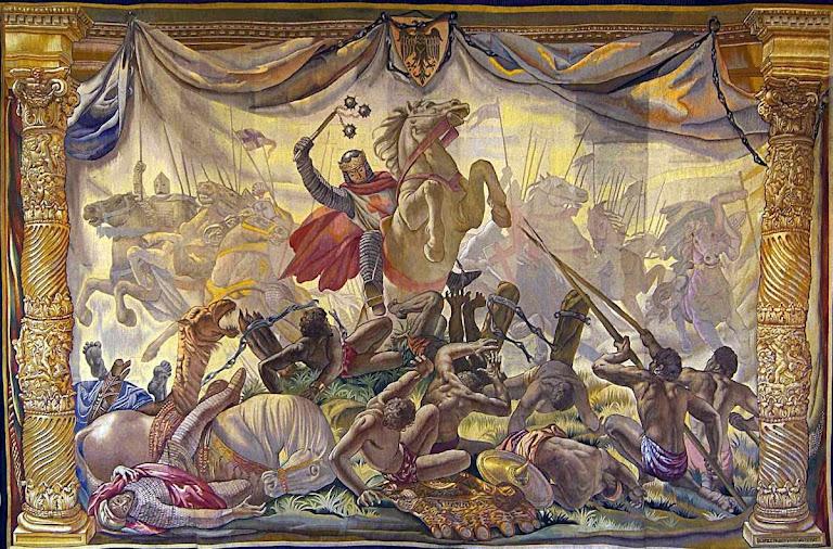 Na batalha das Navas de Tolosa, os reis espanhóis conseguiram segurar a ofensiva islâmica com sobrenatural vigor militar
