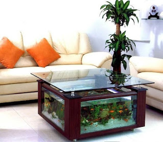 Model aquarium kecil