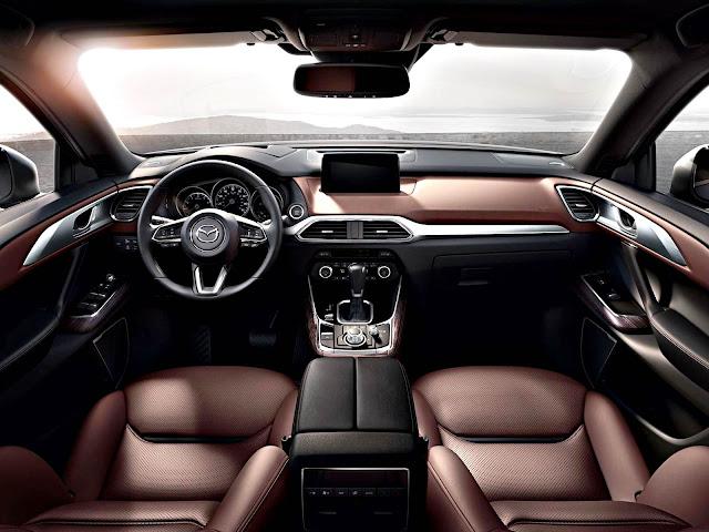 Mazda CX-9 2017 interior