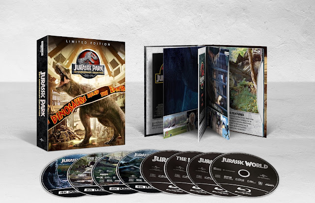 From Universal Pictures Home Entertainment: Jurassic Park 25th Anniversary Collection