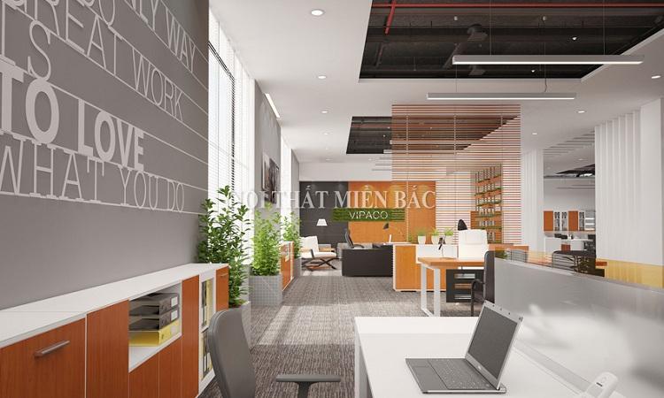 Thiết kế nội thất văn phòng cao cấp, chuyên nghiệp với kinh phí thấp