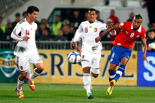 Chile y Venezuela en Clasificatorias a Brasil 2014, 6 de septiembre de 2013