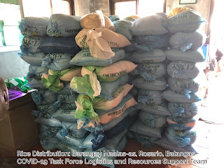 Rice Distribution Maalas-as, Rosario, Batangas