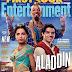 Itt vannak az első képek az élőszereplős Aladdinból - és ezért nem kék Dzsini