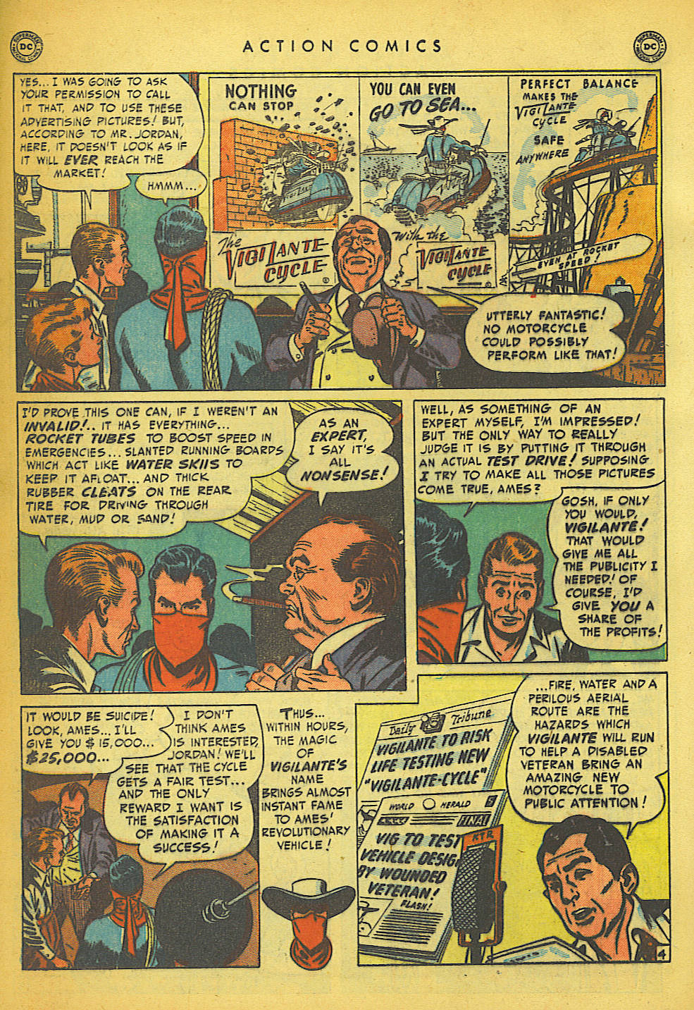 Read online Action Comics (1938) comic -  Issue #149 - 34