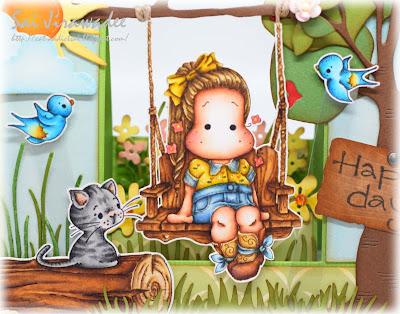 Magnolia Country Girl Happy Swing
