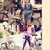 Complemento ideal para el verano.... la bicicleta