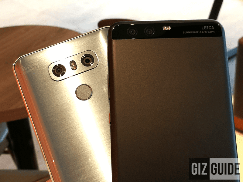 LG G6 Vs Huawei P10 Plus - Lowlight Camera Comparison