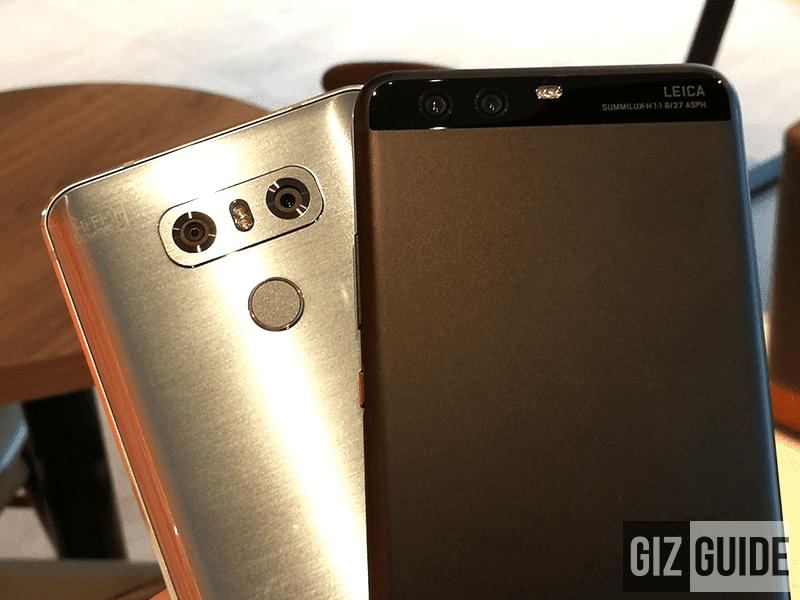 LG G6 Vs Huawei P10 Plus - Lowlight Camera Comparison