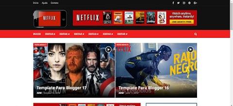 Blogger Template Netflix