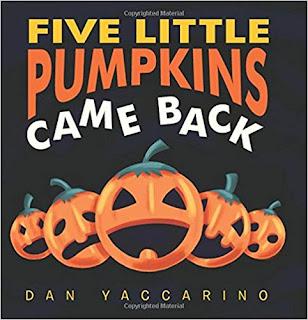 Five Little Pumpkins Came Back Book