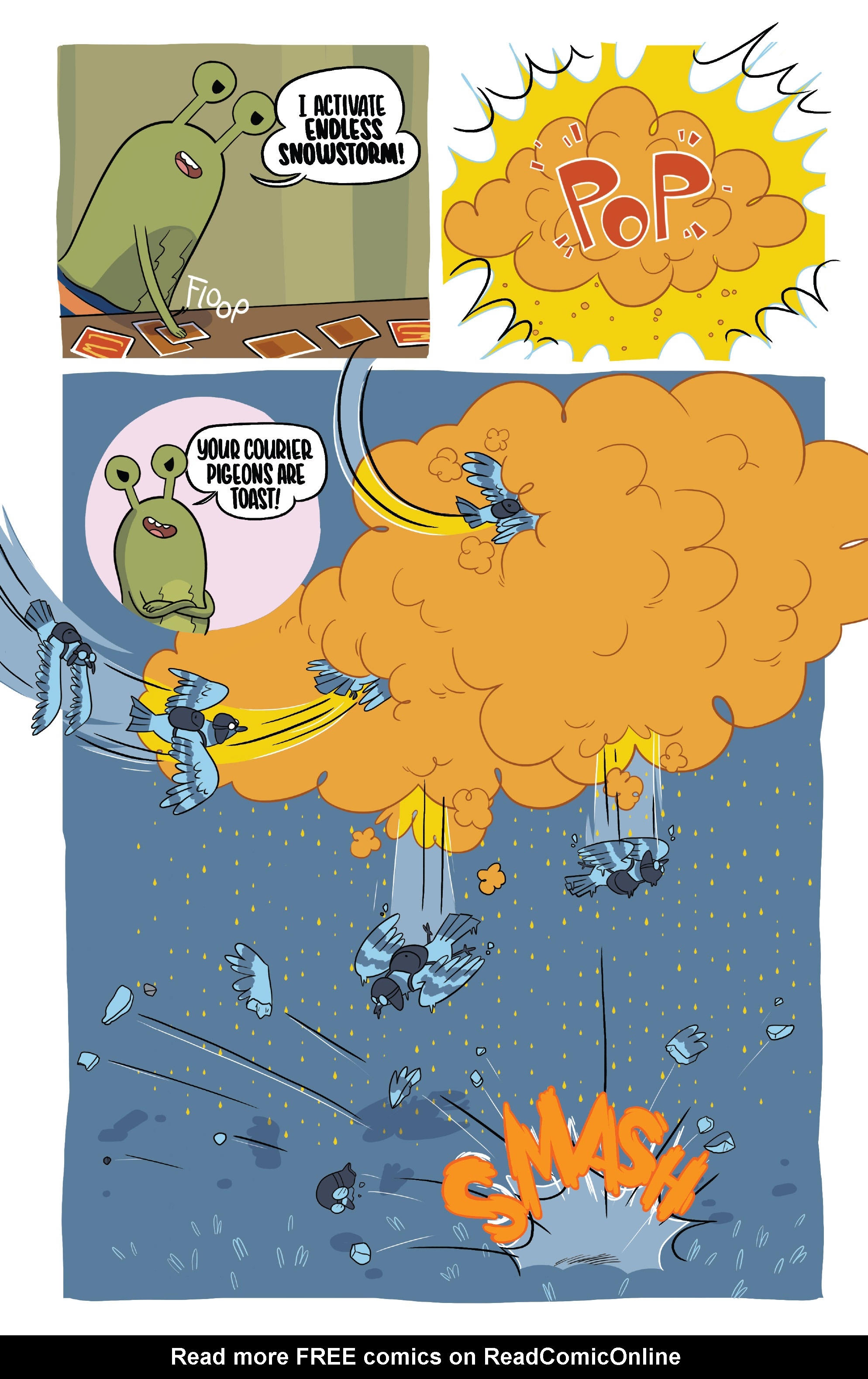 Read online Adventure Time Fionna and Cake Card Wars comic -  Issue #2 - 14