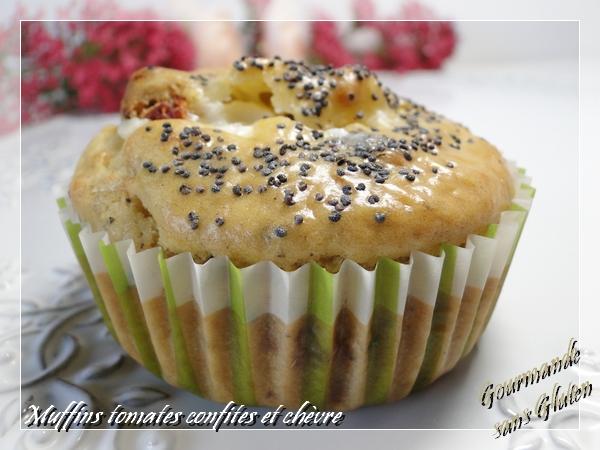muffin sans gluten tomate chèvre