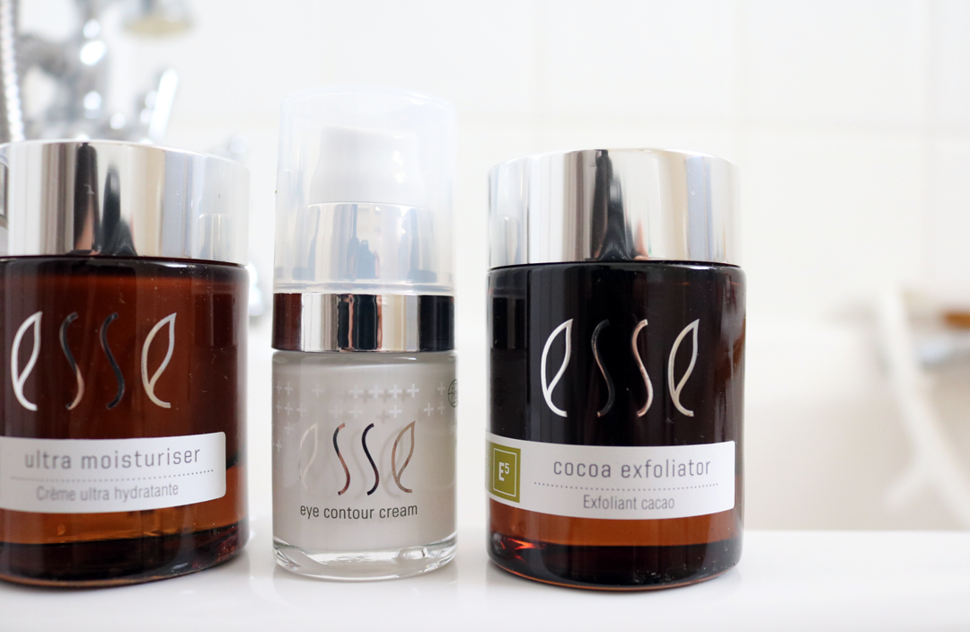 ESSE Skincare - Probiotic Serum, Ultra Moisturiser, Eye Contour Cream & Cocoa Exfoliator review