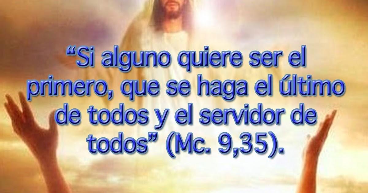 GOTA Católica-Gotas de Dios: (Mc. 9,35).