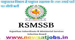 rsmssb+recruitment+2016