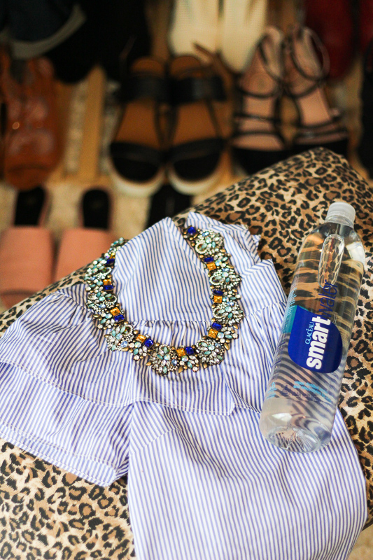 Spring outfit planning with smartwater