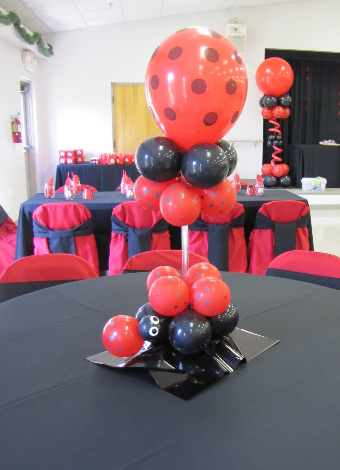 Party people event decorating company lady bug first
