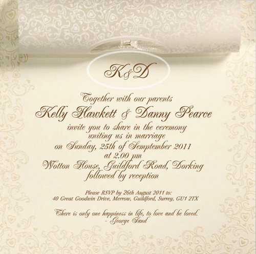 Wedding Invitation Packages Uk
