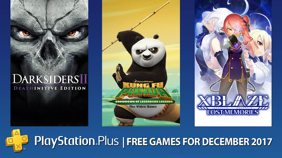 playstation plus free games december 2017