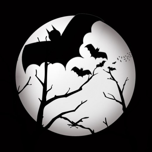 Halloween full moon clipart cartoon animated graphic Images
