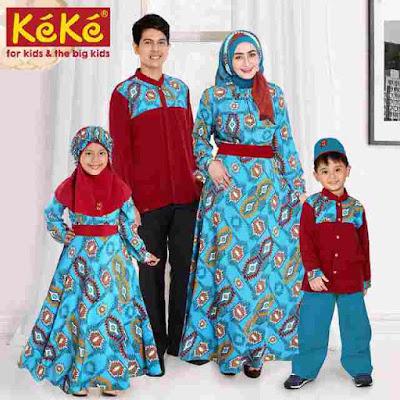 seragam keluarga modern