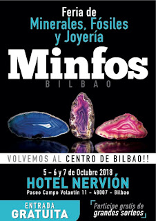 MINFOS Feria Minerales Bilbao 2018