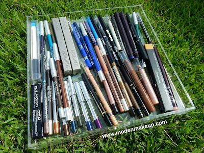 Pencil Eyeliner stash - www.modenmakeup.com