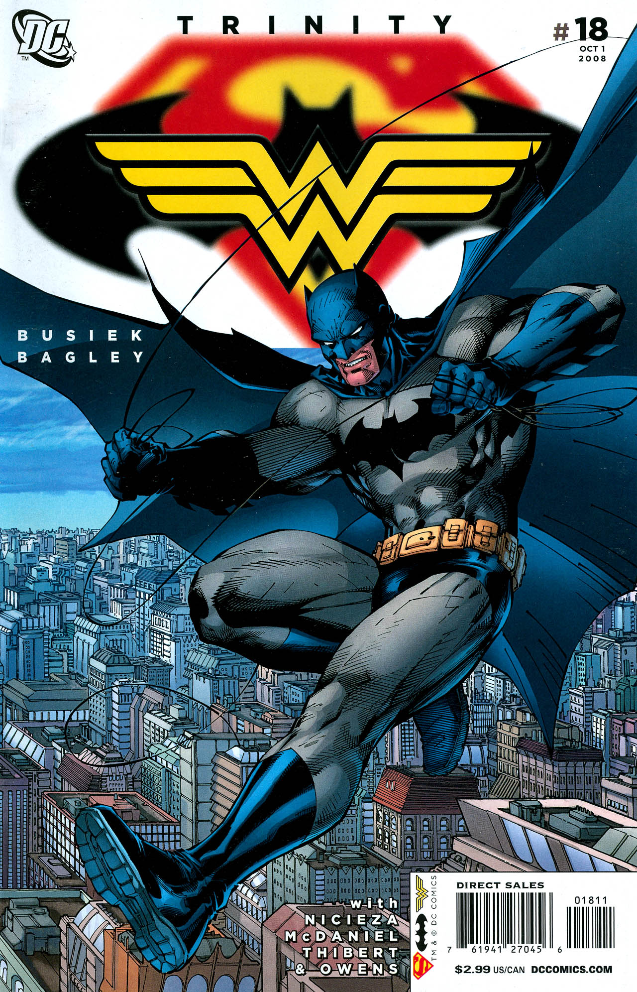 Read online Trinity (2008) comic -  Issue #18 - 1