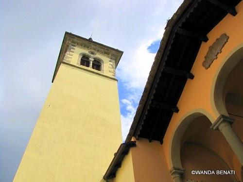 Castelluccio di Porretta, campanile e chiesa di S. Maria Assunta