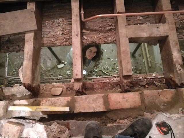 repairing floor joists diy