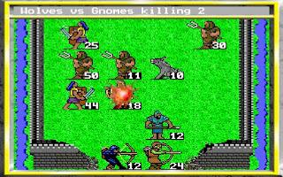 Atacando un castillo King's Bounty - PC