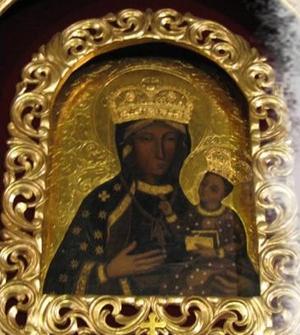 obraz Matki Bożej Dankowskiej łaskami słynący