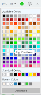 Pilihan Warna Icon