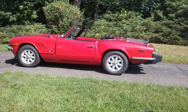 Daily Turismo Raise You Two Cylinders 1976 Triumph Spitfire Six