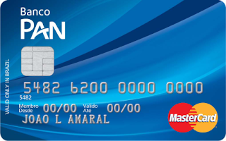 Cartão PAN MasterCard Nacional