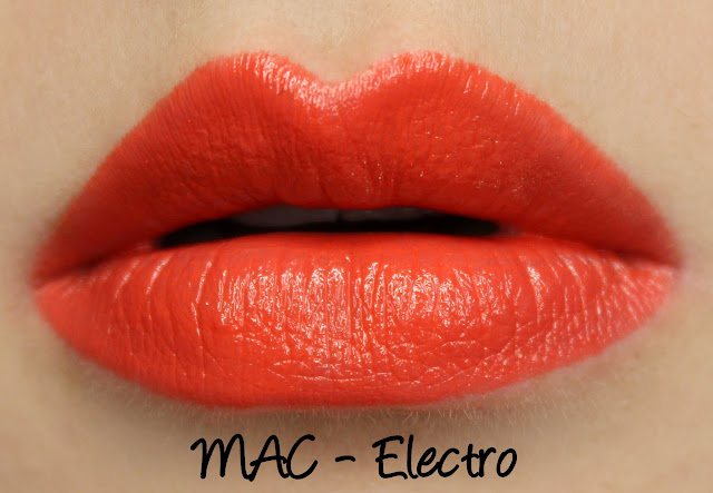 MAC Neo Sci-Fi - Electro Lipstick Swatches & Review