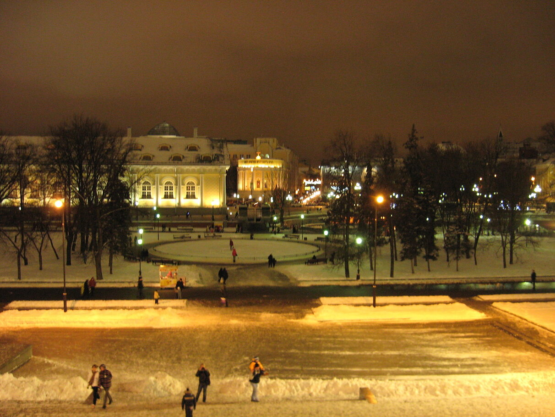Москва. Кремль. Новогоднее.