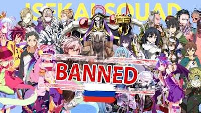 Alasan Kenapa Rusia Memblokir Anime Isekai
