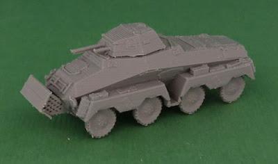 German Schwerer Panzerspähwagen Sd Kfz 231 8-Rad picture 1