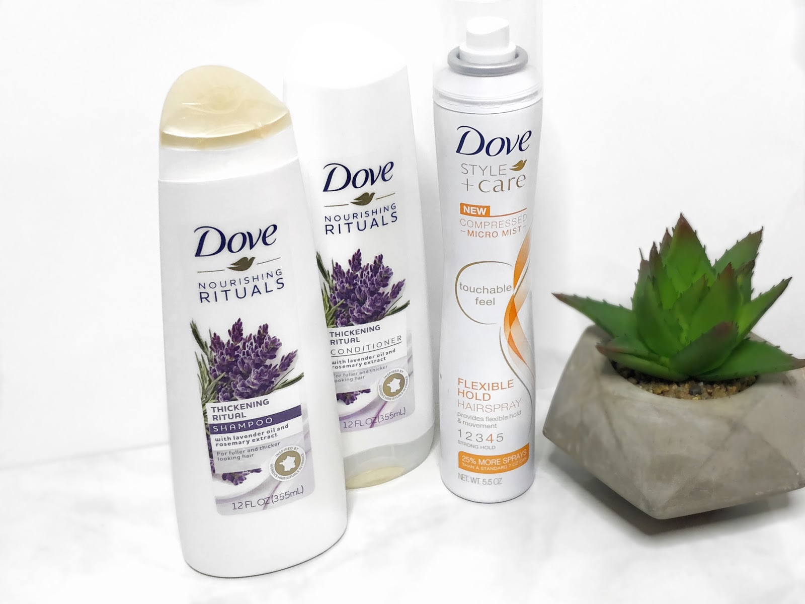 Thickening Shampoo and Conditioner with Lavender Oil