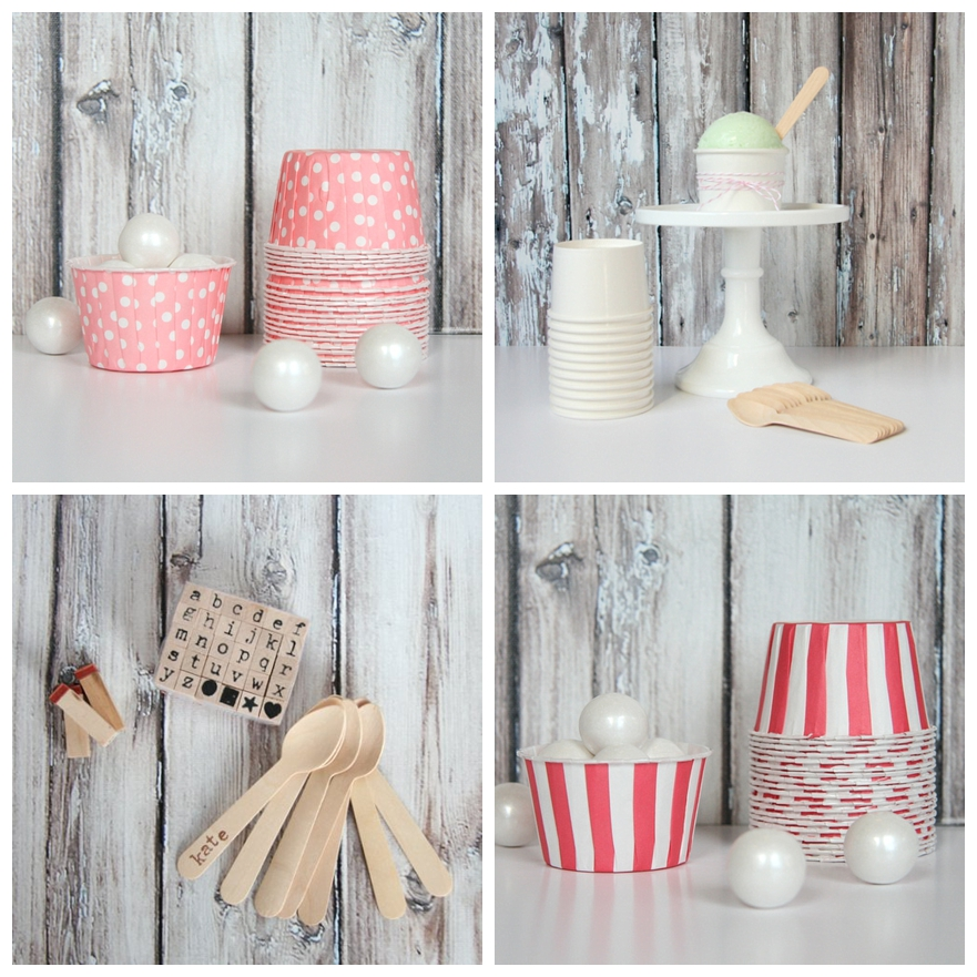 Cute Wedding Ideas For Reception: Wedding Reception Inspiration: Ice-Cream