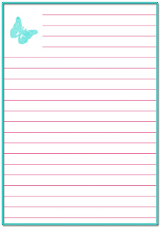 papel de carta para imprimir gratis
